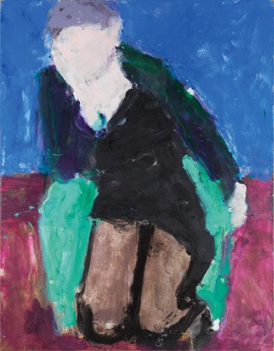 In the Garden Chair, Coat with Green Lining, 2006