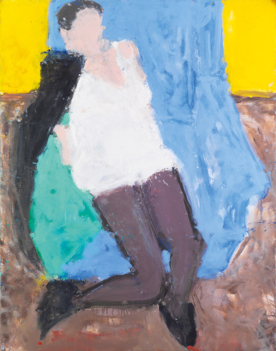 In the Blue Chair, 2007