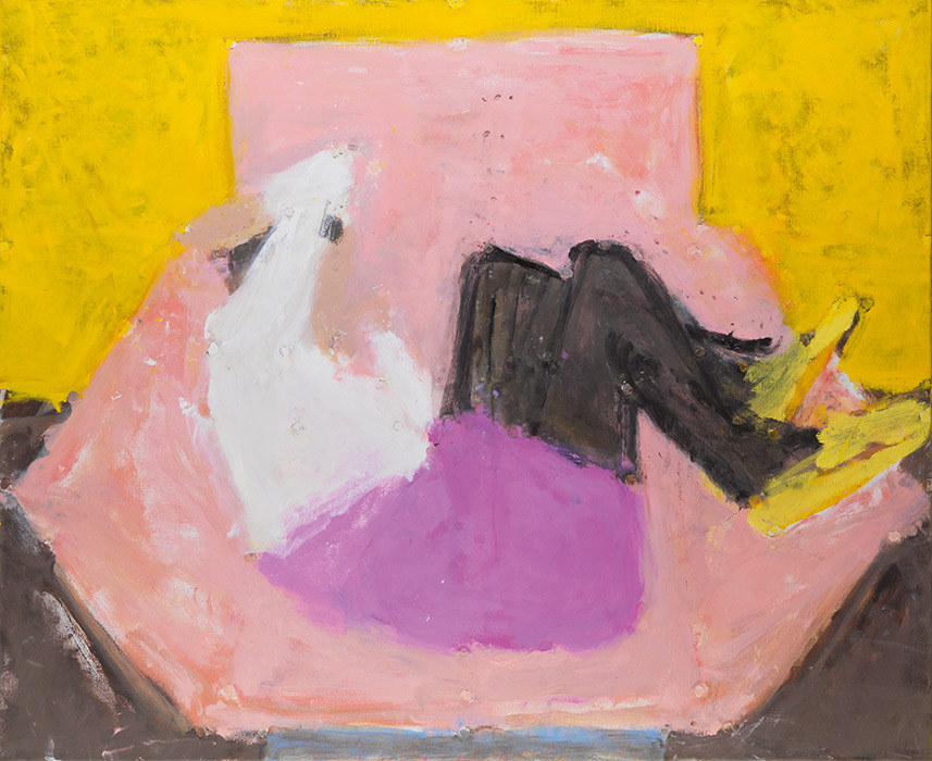 Pink Chair Yellow Shoes, 2006