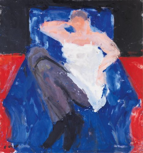 In the Dark Blue Chair, 2007