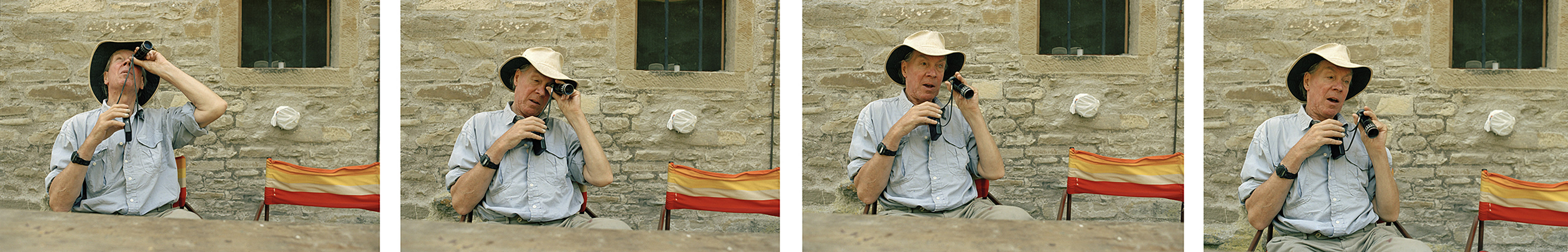 Sargy Mann in Borgo Pace, Italy