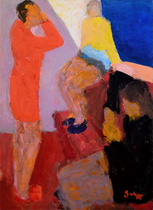 See the Girl with the Red Dress on, 2012