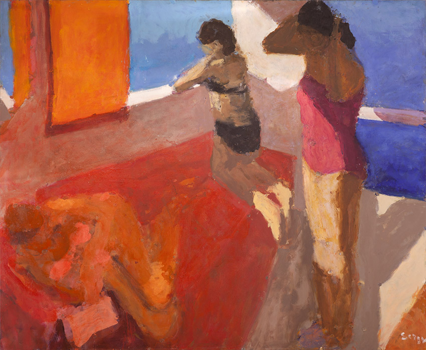 Three Bathers, 2012