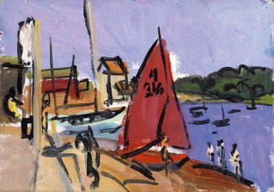 Red Sail Woodbridge, 1976