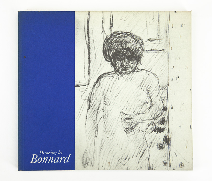 Bonnard Drawings at The Hayward Gallery, exhibition catalogue