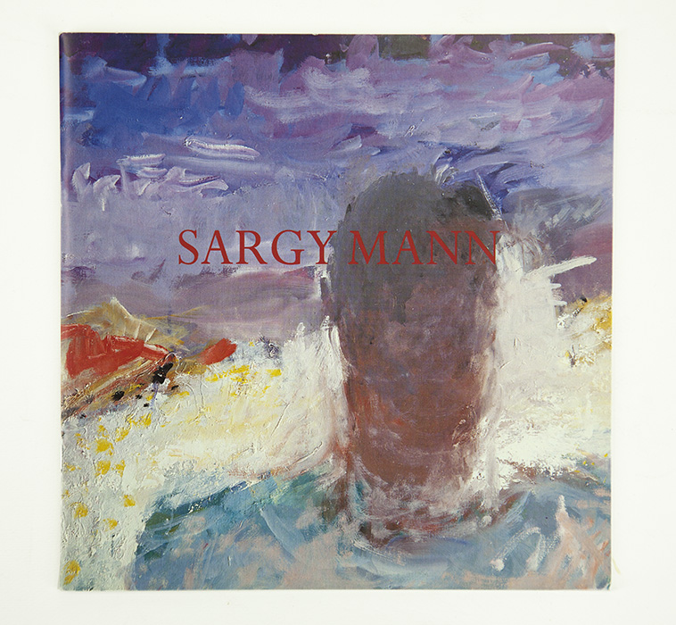 Exhibition card for Sargy Mann's 2001 solo Show at Cadogan Contemporary