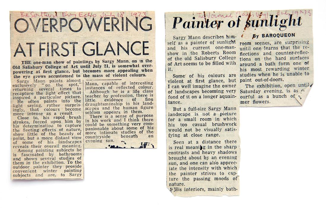 Salisbury festival, 1973, reviews