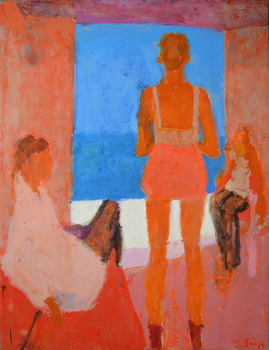 Three Figures by the Sea, 2014