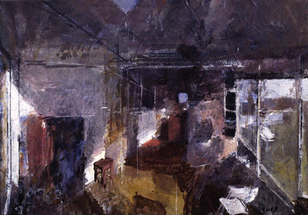Studio in Winter, 1991