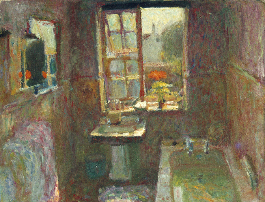 Lemmons Bathroom II, 1971