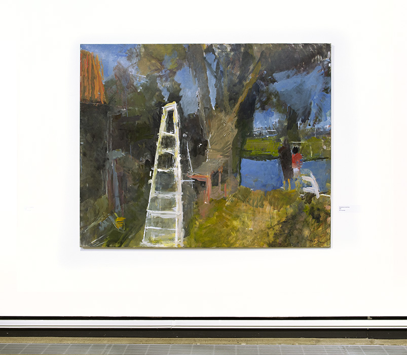Stepladder by the River, 1992
