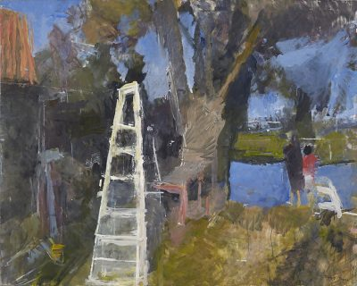 Stepladder by the River 1992