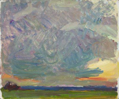 Regents Park, Sunset (massed clouds) 1967
