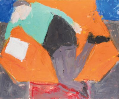 Orange Chair with Book, 2006