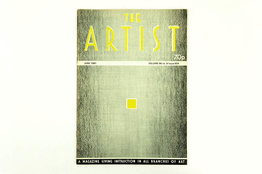 The Artist Magazine, June 1981. Sargy Mann essay on Paul Cezanne.