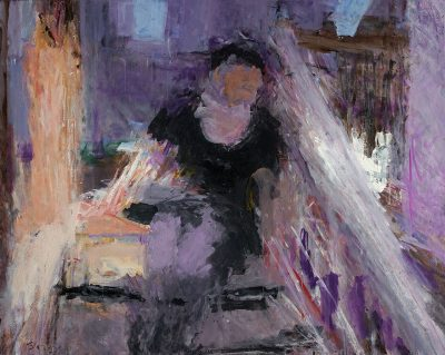 Double Sunlight, Frances on the Stairs, 2004