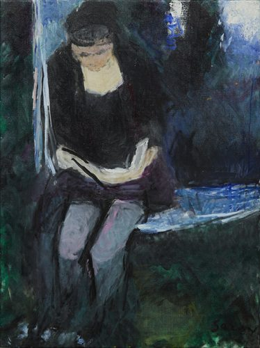Frances in Hammock by the River, no. 5, 2003