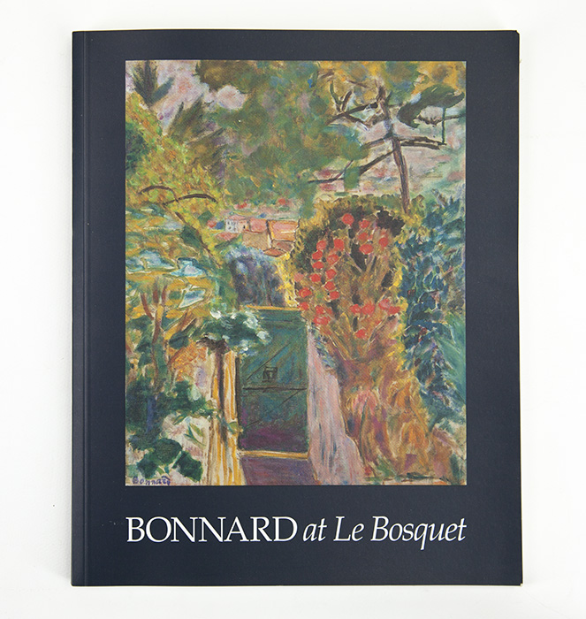 Exhibition catalogue for Bonnard at Le Bosquet