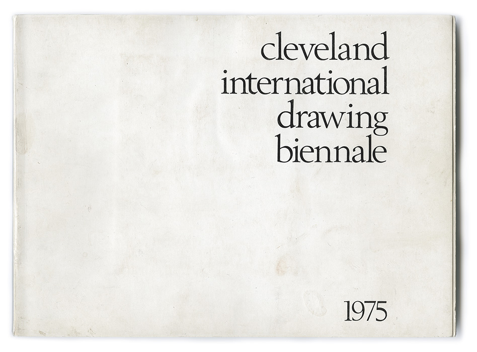 Second Cleveland International Drawing Biennale exhibition catalogue
