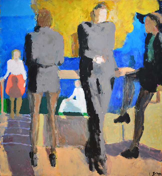 Figures by a River, 2015