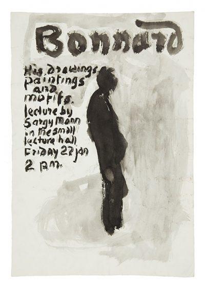 Bonnard lecture poster