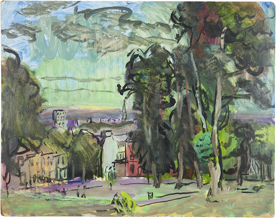 Looking Down Brandon Hill, 1976