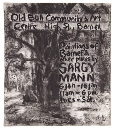 Poster for exhibition at The Old Bull Community and Art Centre, Barnet