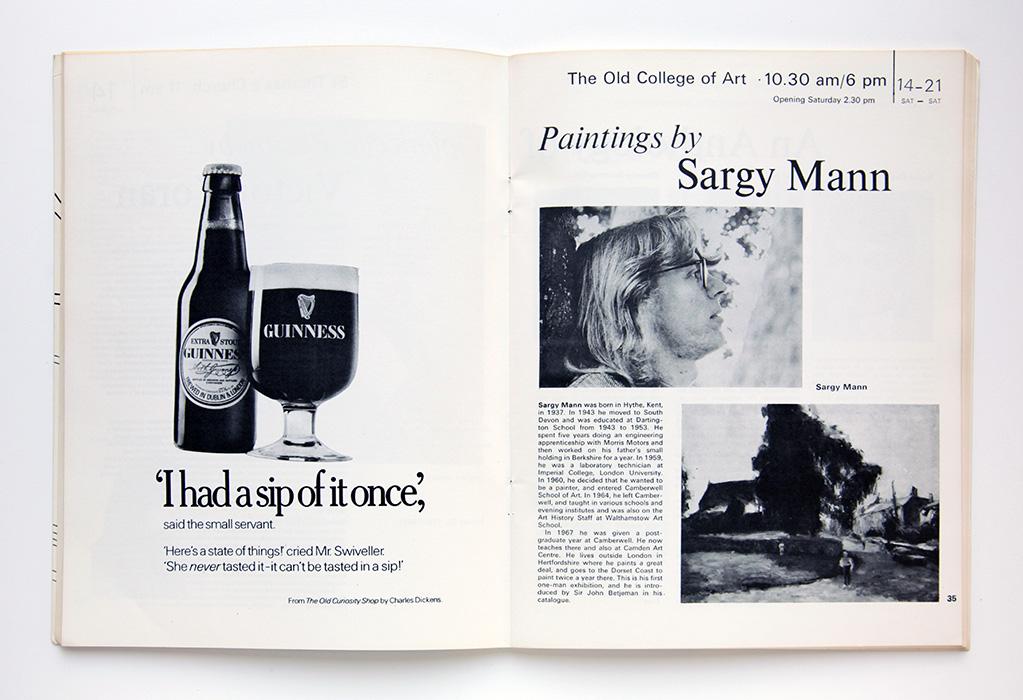 Salisbury festival, 1973, catalogue