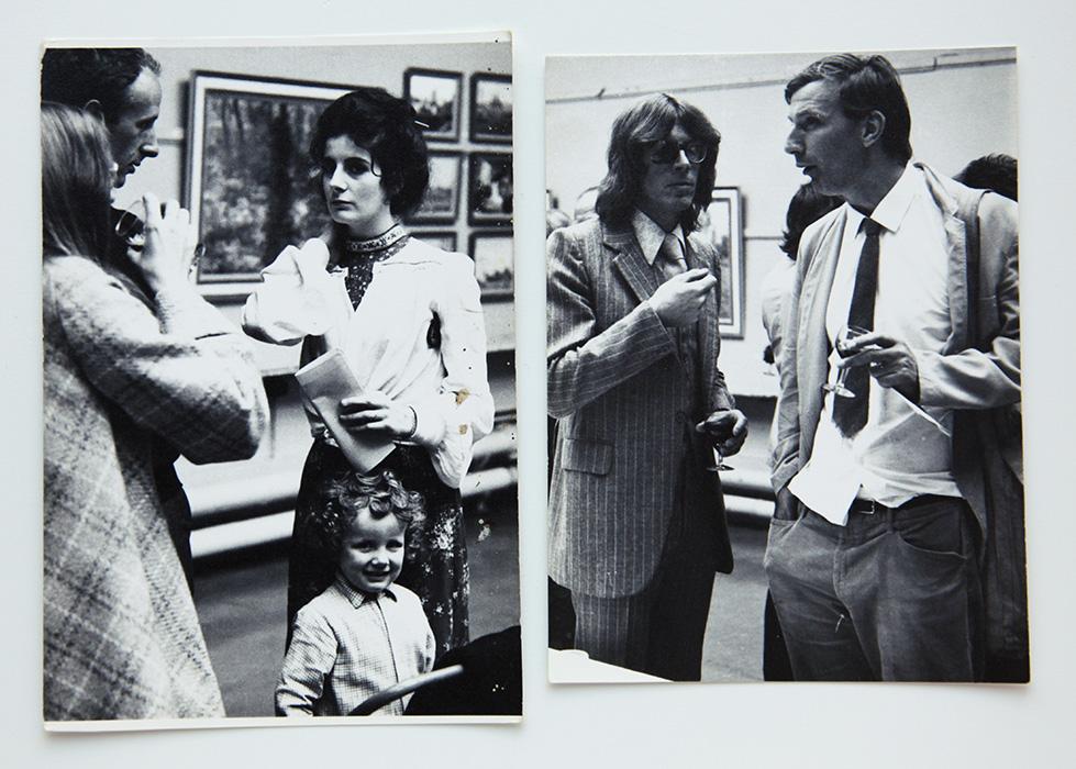 Salisbury festival, 1973, private view
