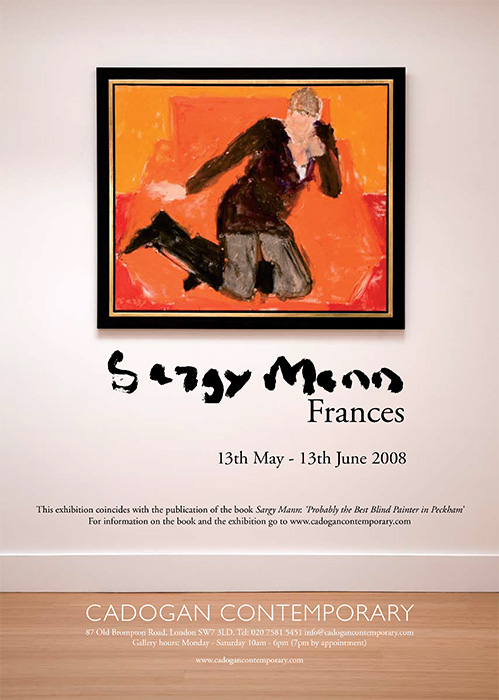 Sargy Mann, Frances. Advertisement in The Week.