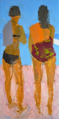 Two Bathers, 2014