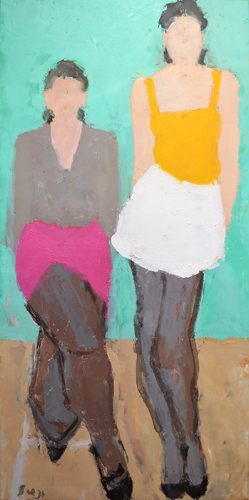 Two Figures, 2014