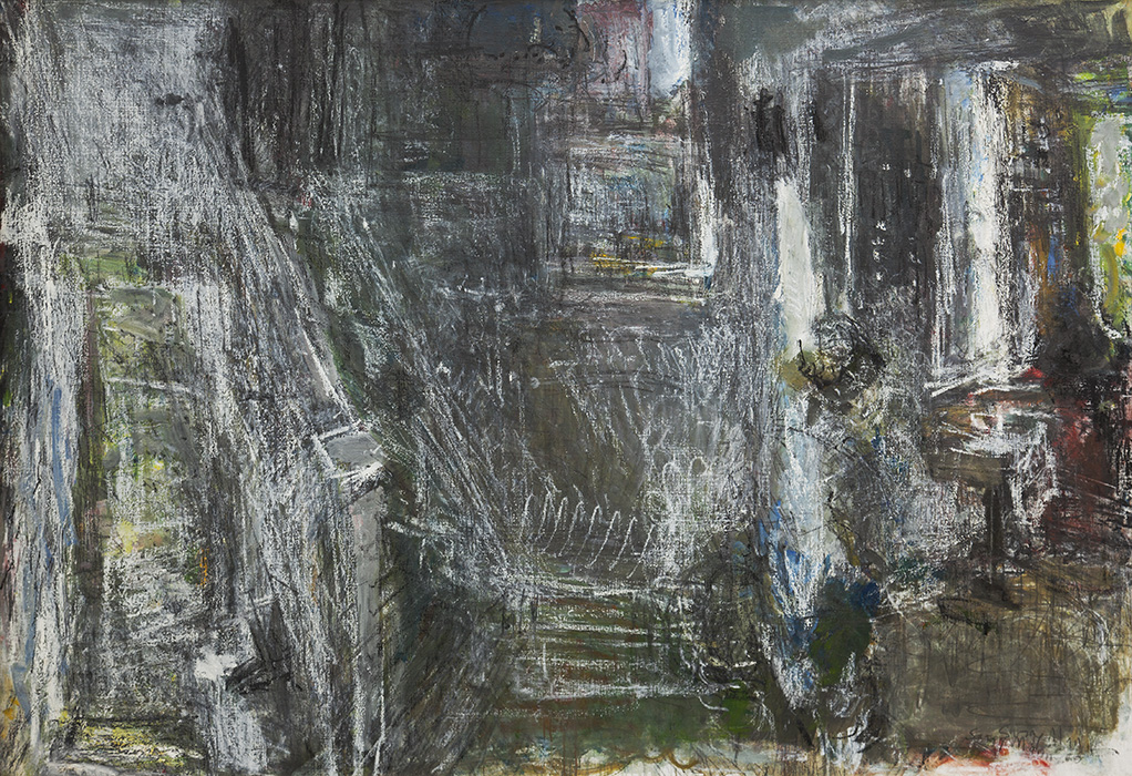 Upstairs at 58 Lyndhurst Grove, 1988