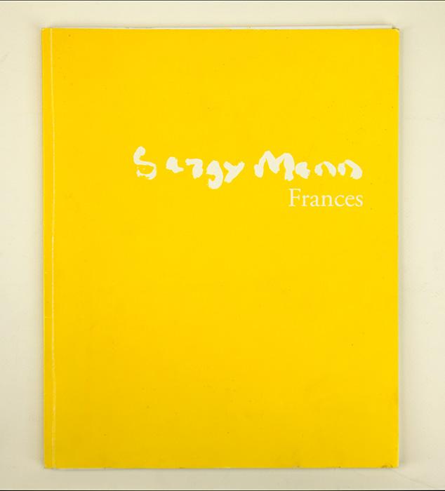 Exhibition card for Sargy Mann's 2008 solo Show at Cadogan Contemporary