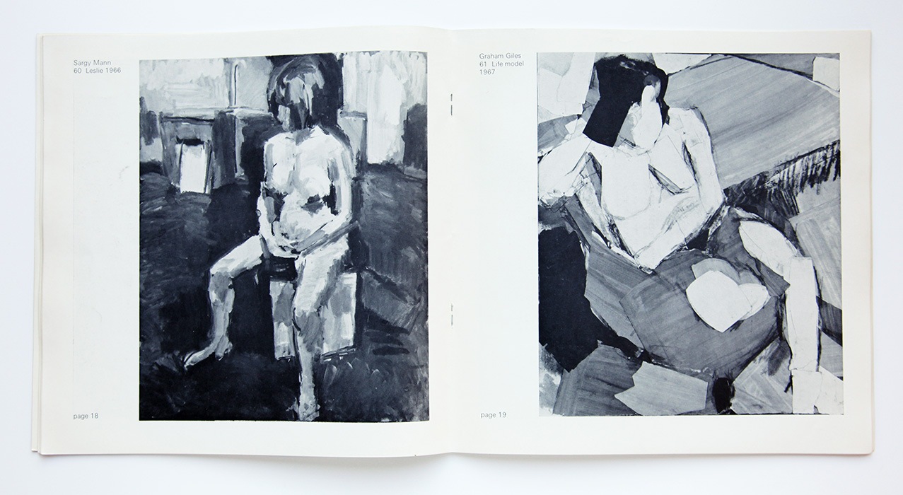 From Life, 1968, Camden Art's Centre, catalogue, Sargy Mann reproduction