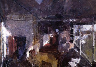 Studio in Winter, 1991