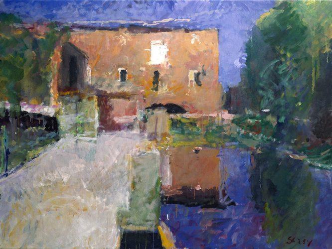 Calcinaia down the Millrace, 1998