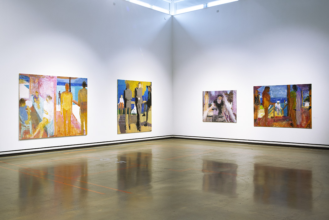 Sargy Mann 'Let it be felt that the painter was there' Main room, Late paintings in main gallery