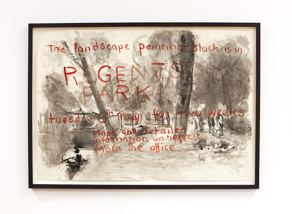 Poster - Regents Park, 1970's