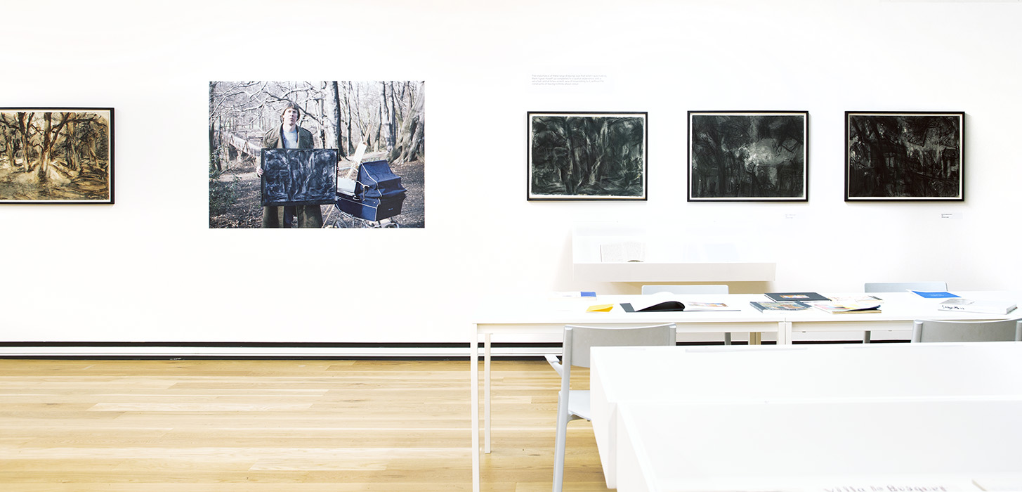 Installation view of room 1.
