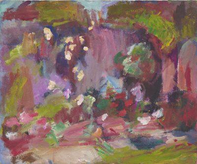 Garden Wall in Sun. 1968